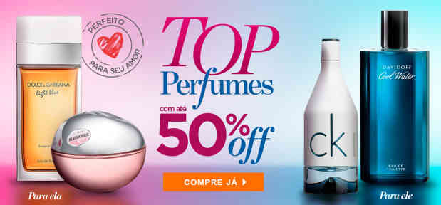 Perfumes: ate 50%OFF