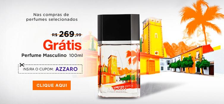 Perfumes Extra: Ganhe Azzaro