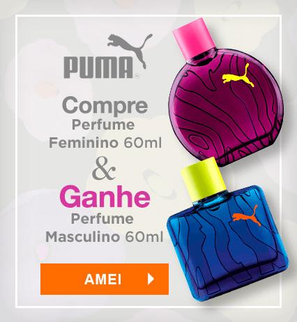 Ganhe Perfume Puma