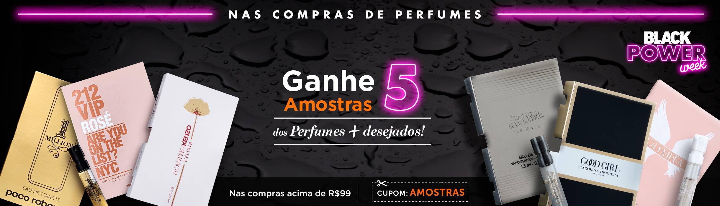 Promoção em Perfumes na Black Friday