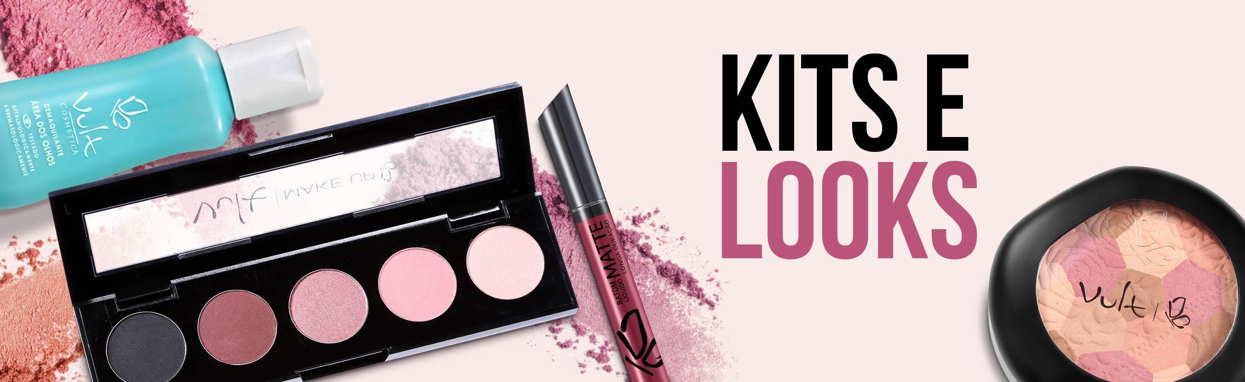 Kits e looks de Maquiagem Vult