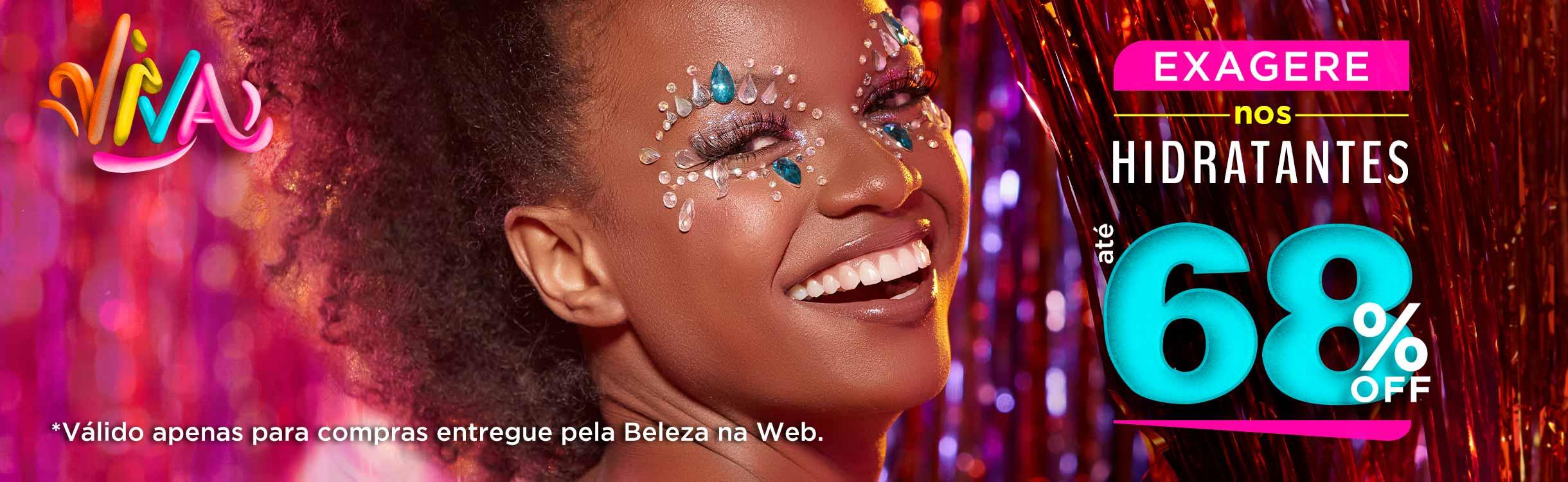 Produtos para Pele no Carnaval
