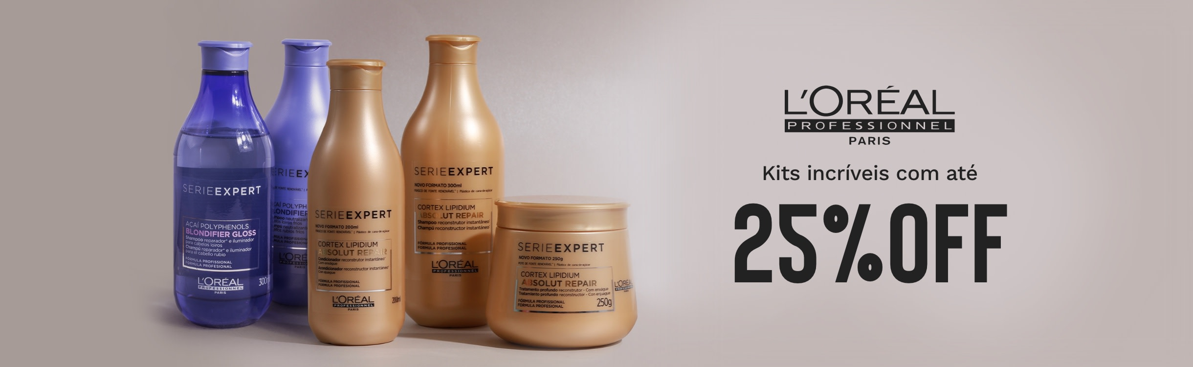 Kits L'Oréal Professionnel para Cabelos