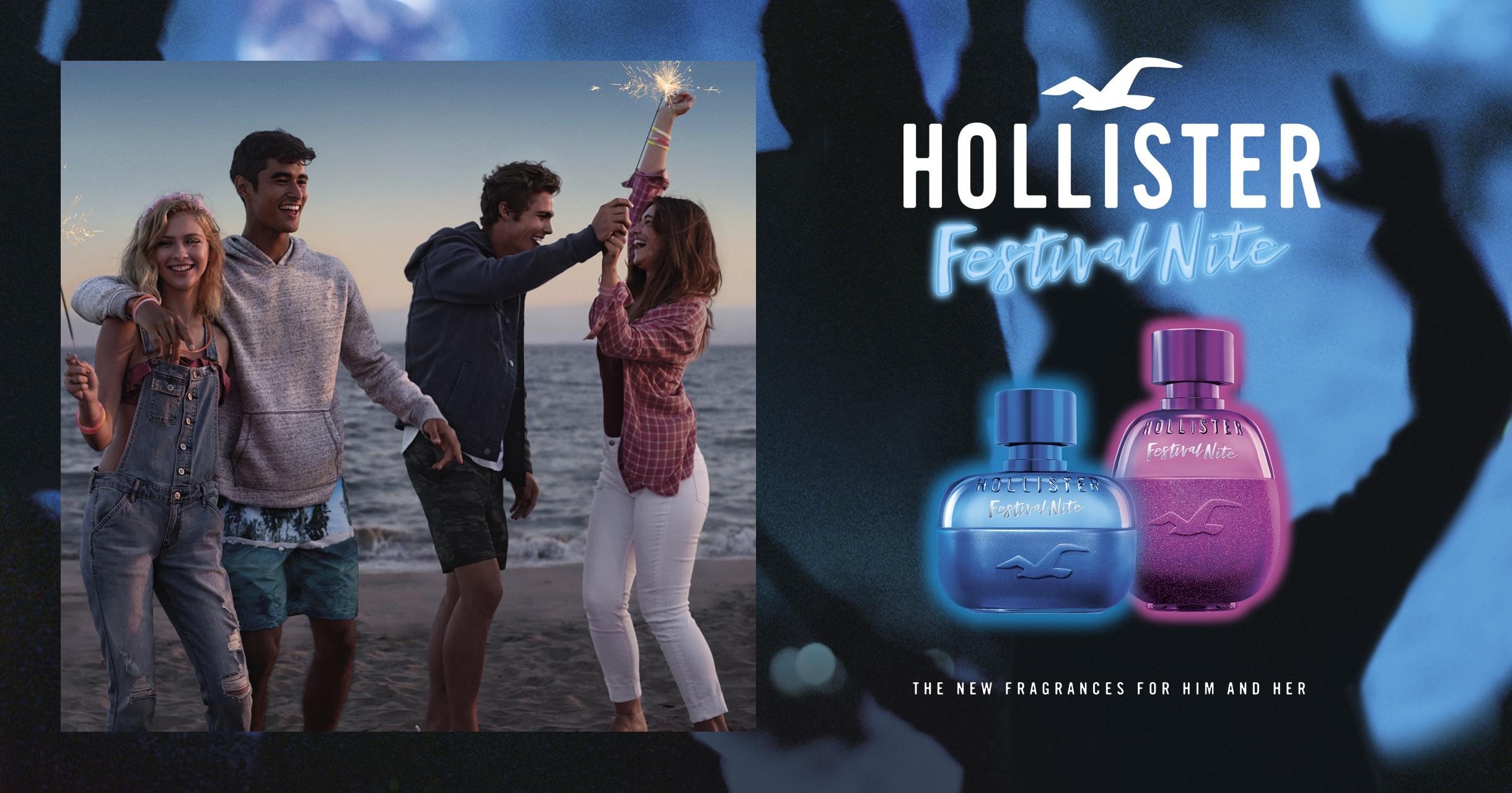 Hollister - Perfumes Masculinos e Femininos | Beleza na Web