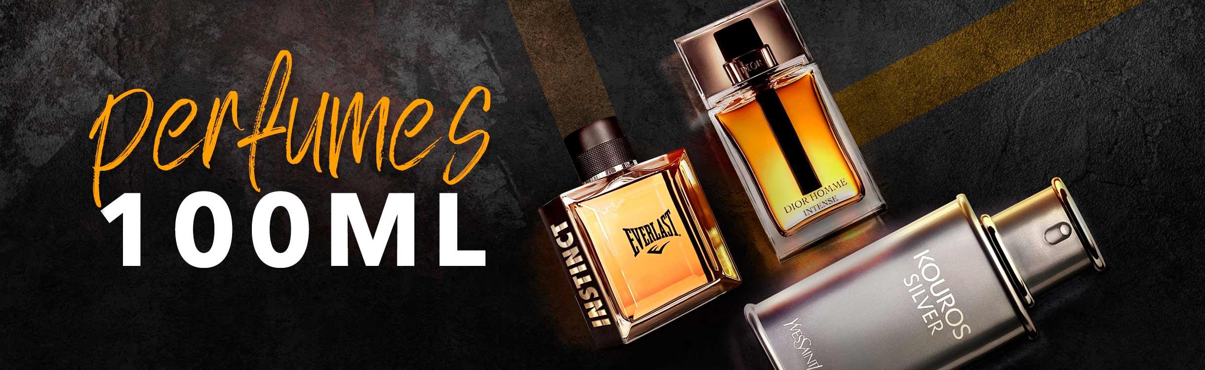 Perfumes e Perfumaria masculinos a partir de 100ml