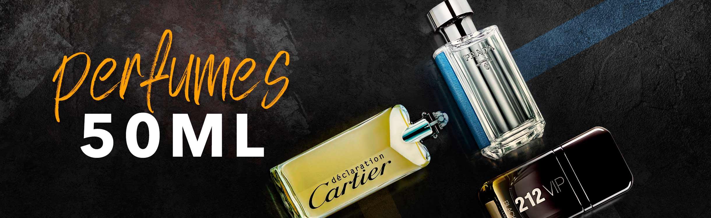 Perfumes masculinos a partir de 50ml