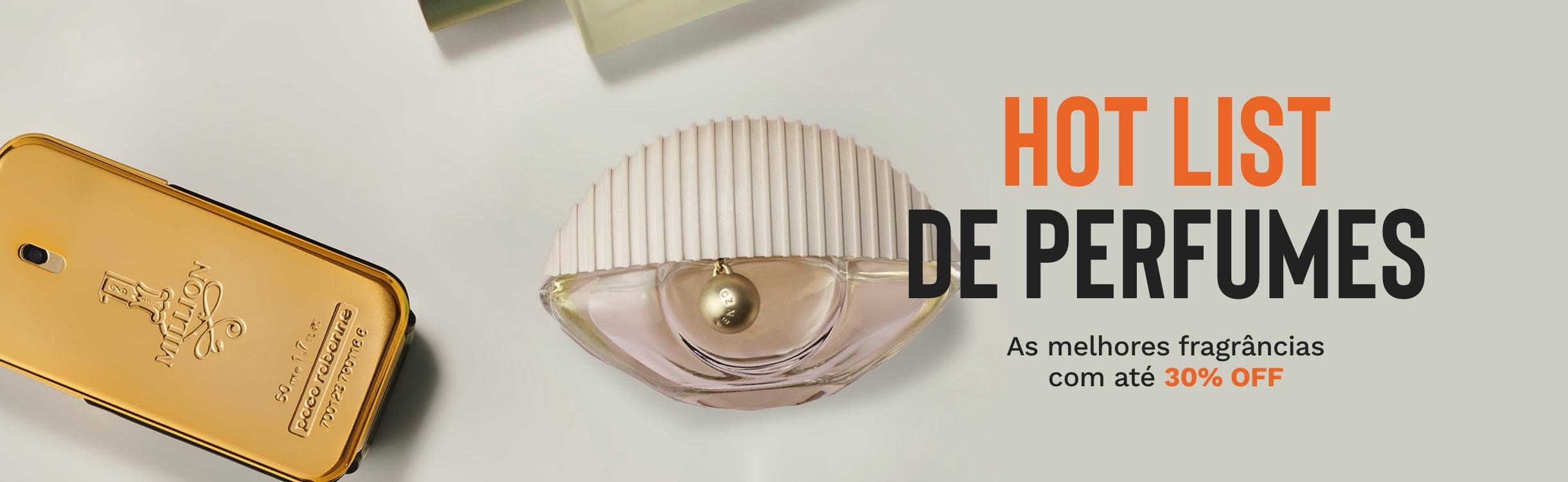Hot List: Perfumes com desconto