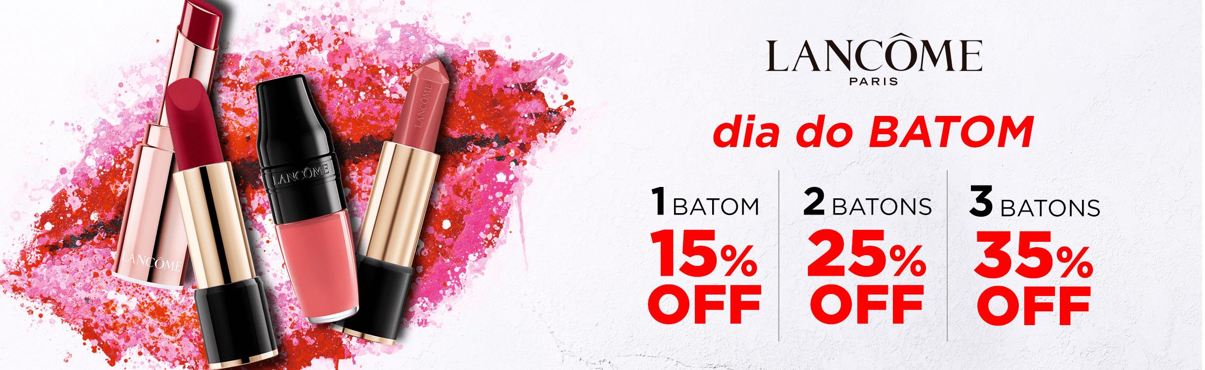 Maquiagem Lancôme para Boca