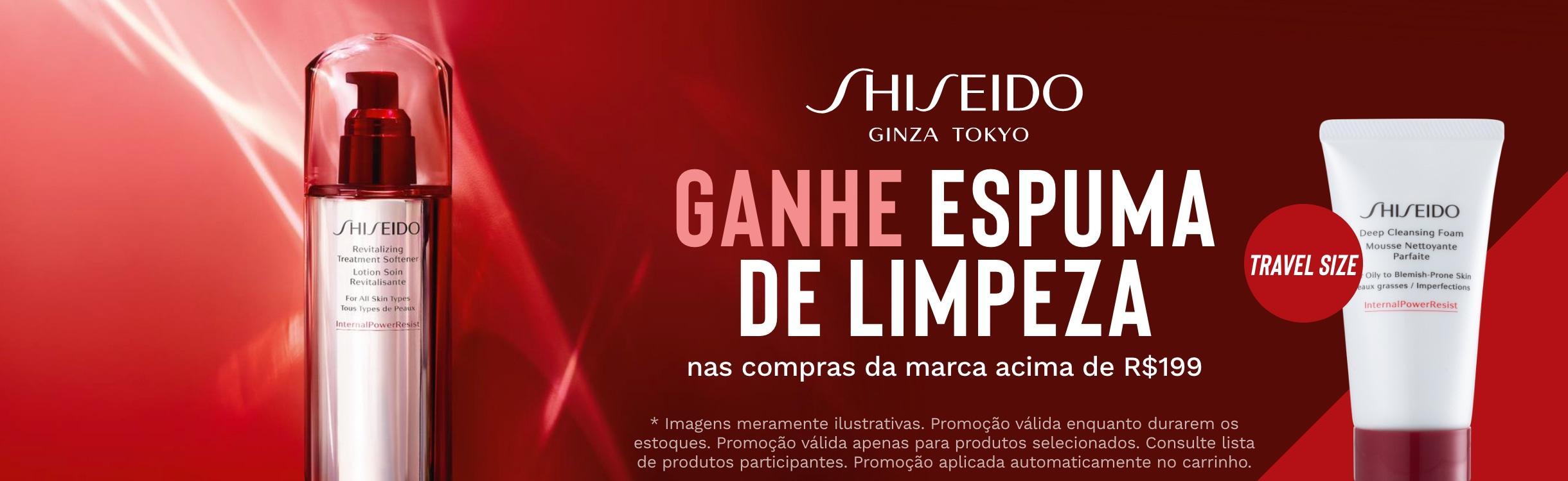 Cuidados para Pele Shiseido