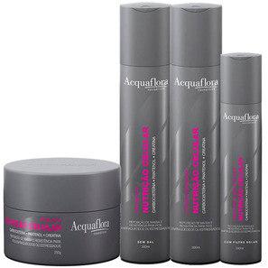 Acquaflora Nutrição Celular Máscara Kit (4 Produtos)