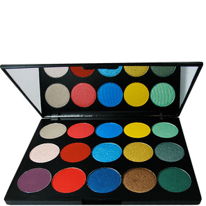 paleta sombras hot makeup professional