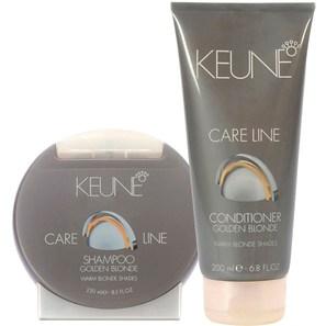 Keune Care Line Golden Blonde Shine Duo Kit (2 Produtos)