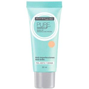 Maybelline Pure Makeup Bege Claro - Base Líquida 30ml