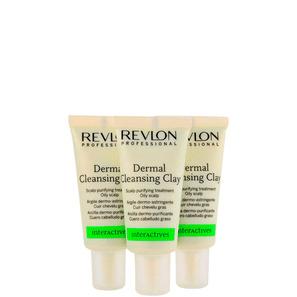 Revlon Professional Scalp Balance Dermal Cleansing Clay - Tratamento 3x18ml