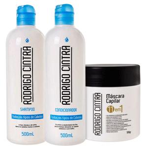 Rodrigo Cintra Todos os Tipos de Cabelos Tratamento Kit (3 Produtos)