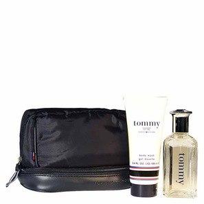 Tommy Hilfiger Conjunto Masculino Tommy - Eau de Cologne 50ml + Body Wash 100ml + Nécessaire