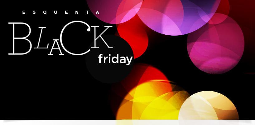 Produtos de beleza: Black Friday banner