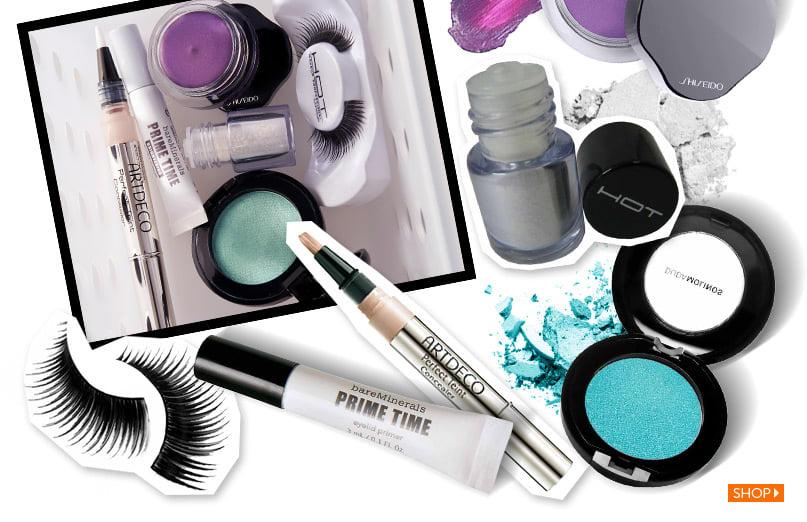 Maquiagem de duas cores