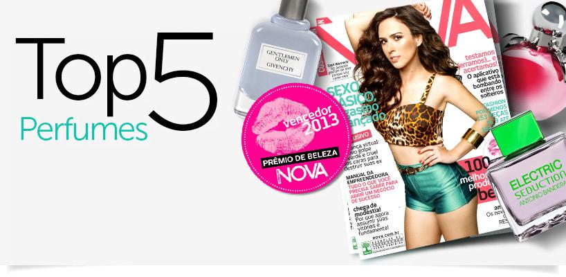 Melhores perfumes - Prêmio NOVA banner