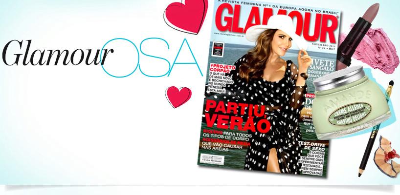 Revista Glamour de novembro