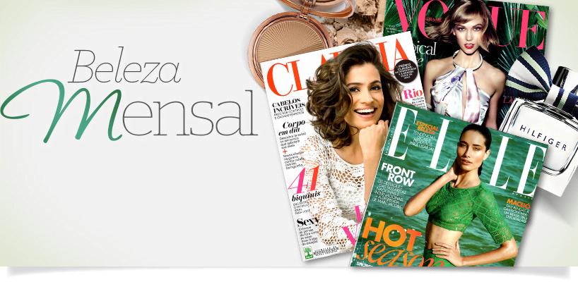 Revistas femininas de novembro banner