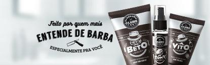 Produtos Barbearia Clube para Barba