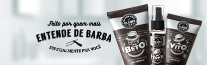 Pós-Barba Barbearia Clube