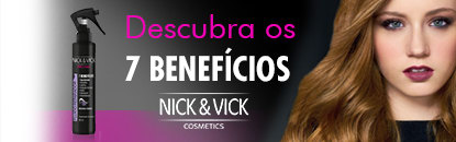 Leave-in Nick & Vick e Creme para Pentear