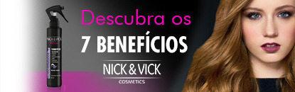Nick & Vick Alta Performance Cachos e Ondas