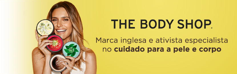 Esfoliante The Body Shop para o Rosto