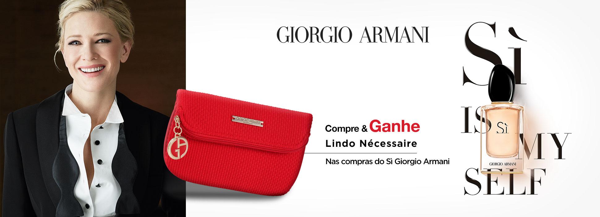 Giorgio Armani Beleza na Web