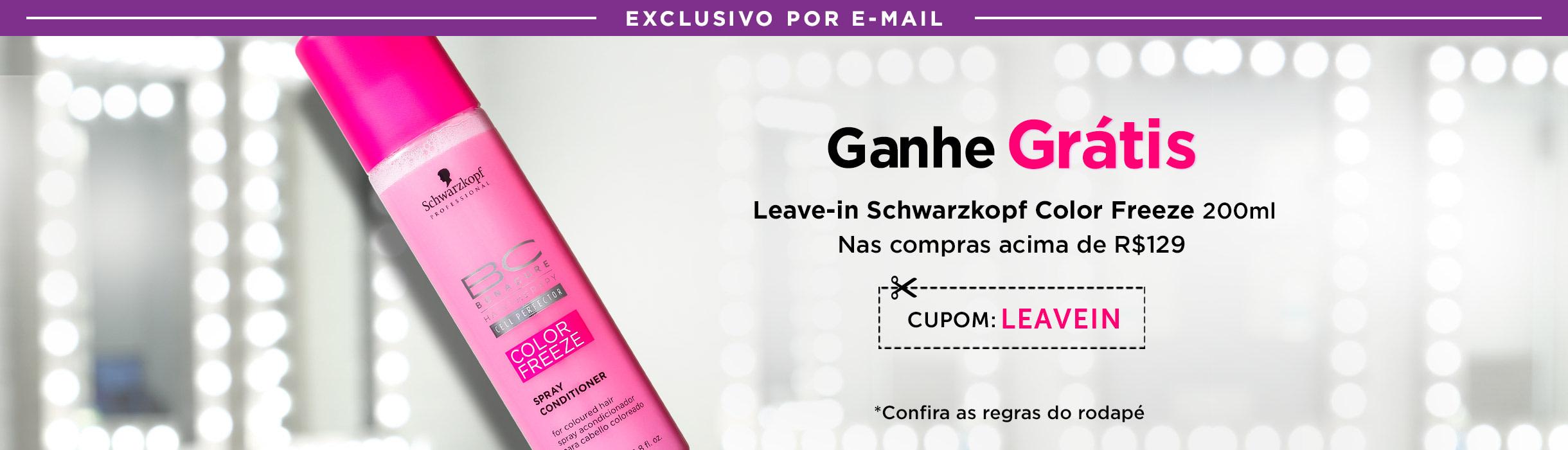 Ganhe Leave-in Schwarzkopf