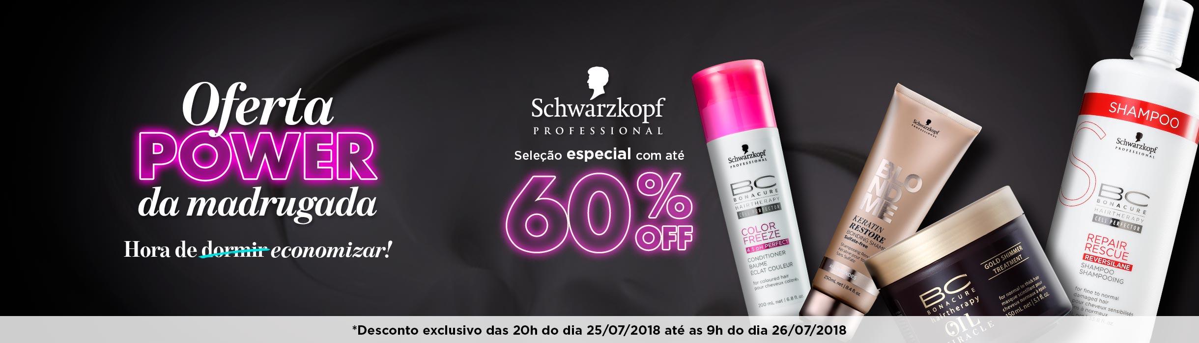 Produtos Schwarzkopf Professional em Promoção