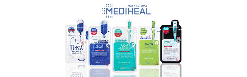 Kits Mediheal de Tratamento para Rosto