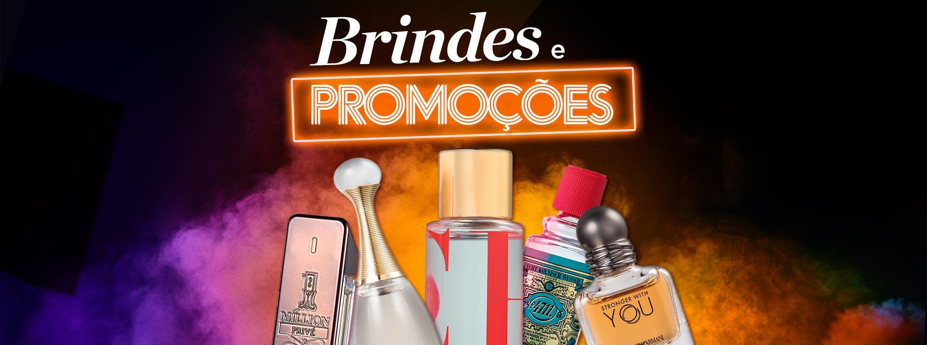 Brindes e Promoções de Perfumes