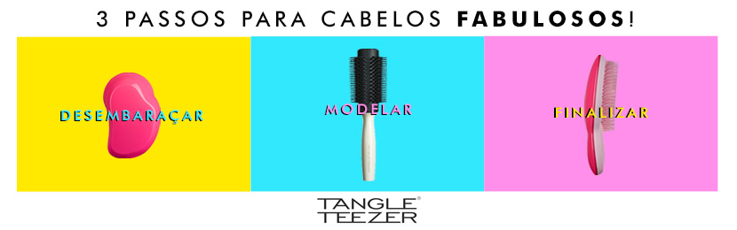 Tangle Teezer Passo 2: Modelar