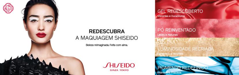 Maquiagem Shiseido para Boca