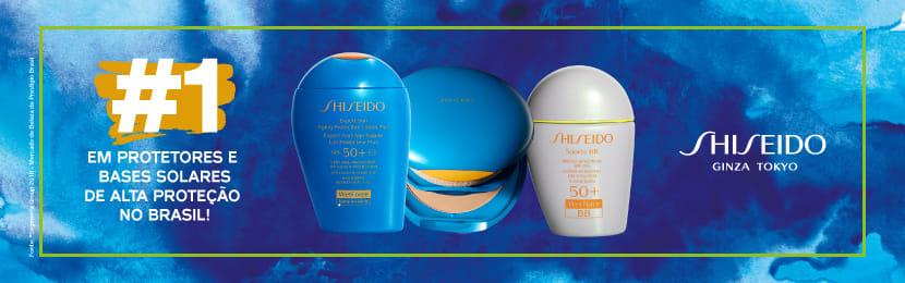 Produtos Shiseido para o Barbear