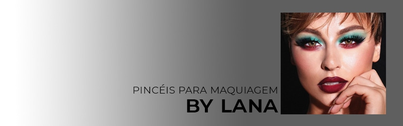 Kits Lana Professional de Pincéis para Maquiagem