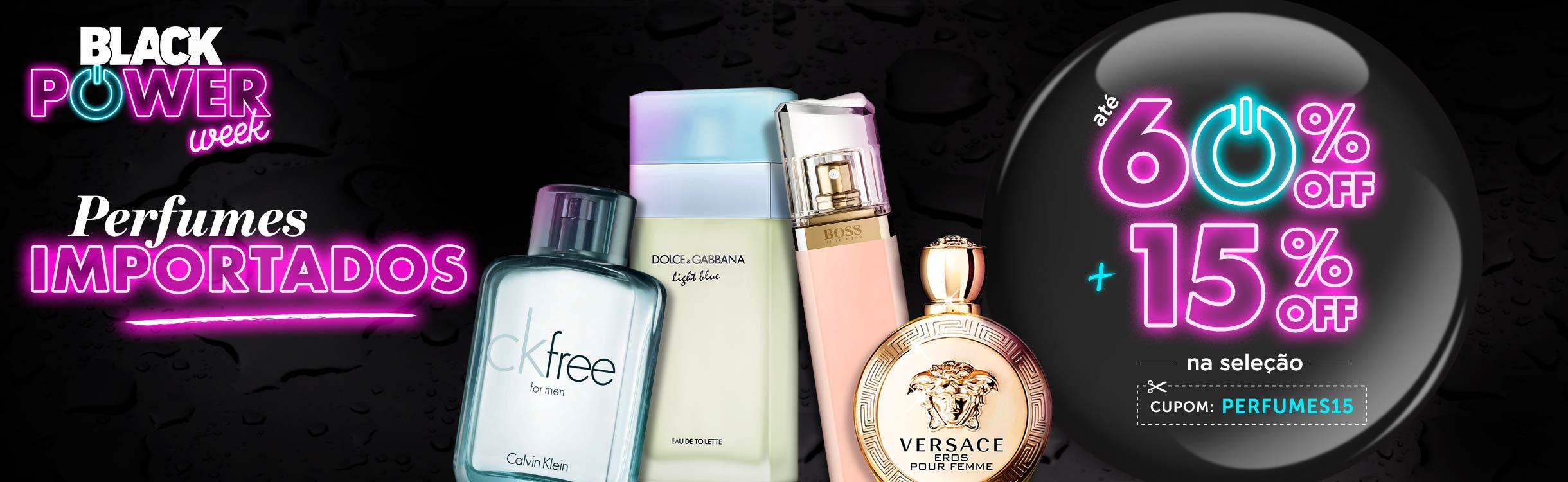 Aproveite perfumes com descontos