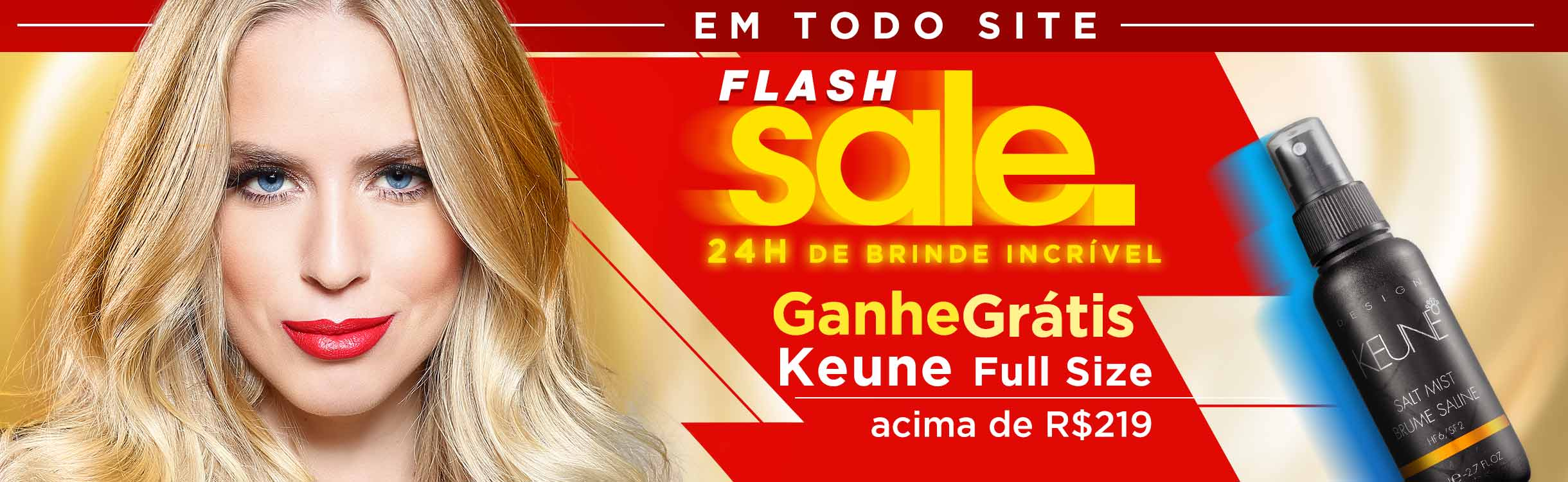 Flash Sale até 70% off