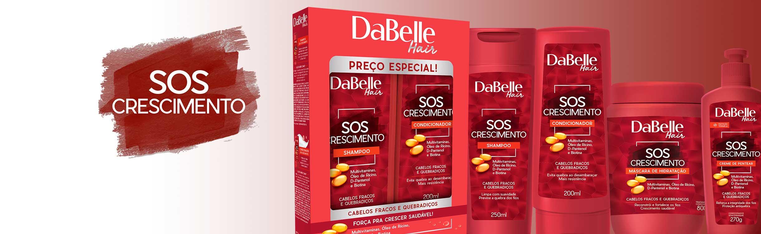 SOS Crescimento DaBelle Hair