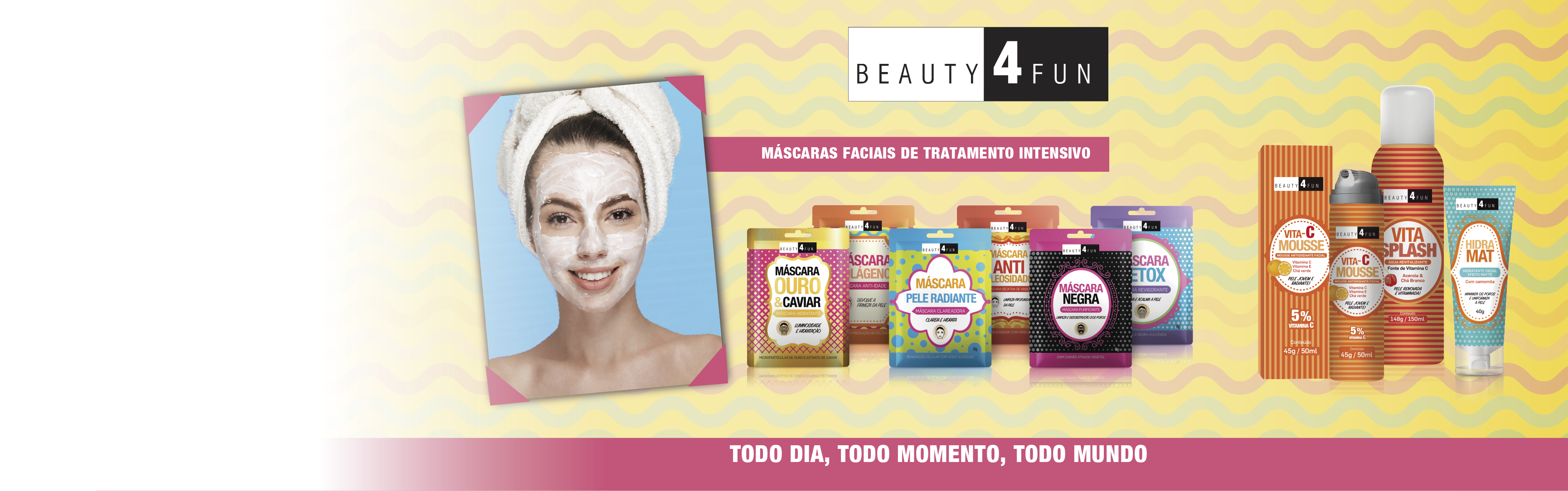 Máscara Facial Beauty 4 Fun