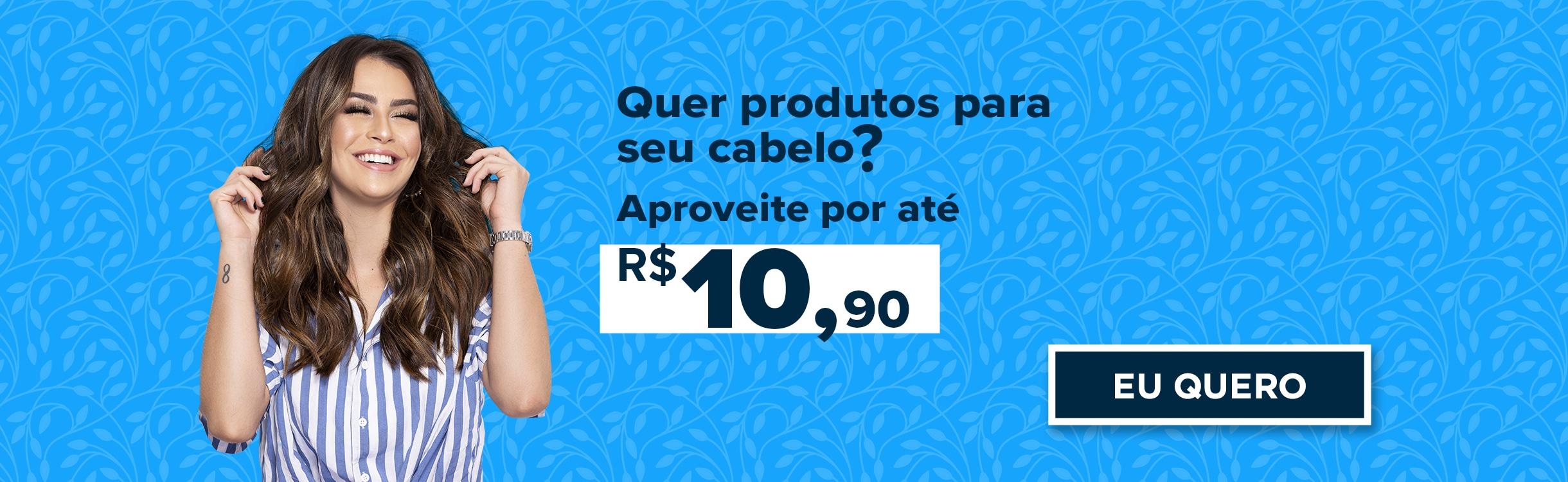 Seleção de Produtos com Preços abaixo de R$10,9