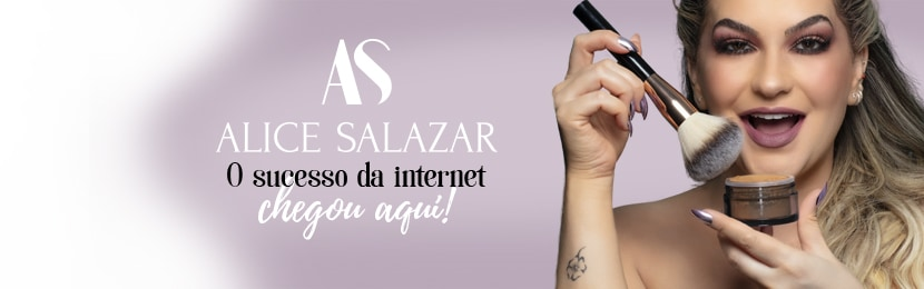 Maquiagem Alice Salazar para Olhos