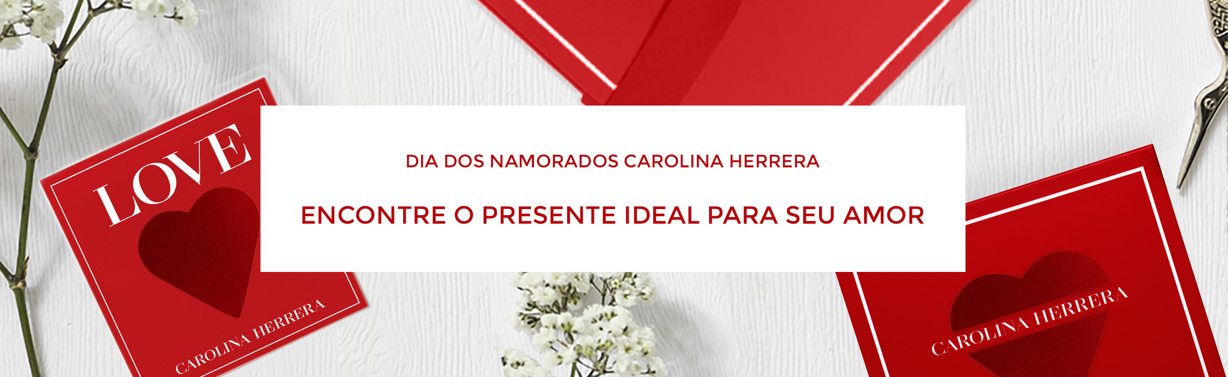 Presenteie com Carolina Herrera