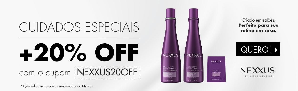 Nexxus Cuidados Especiais Até 20% Off