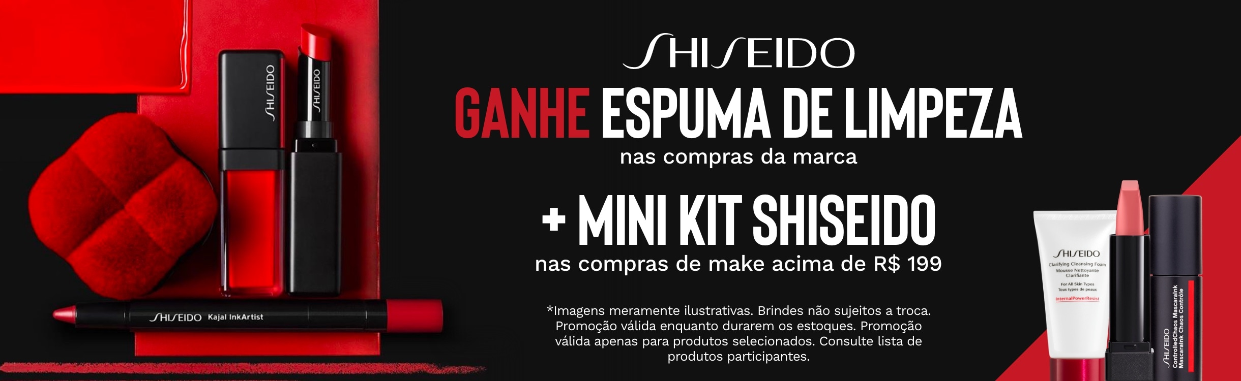 Maquiagem Shiseido