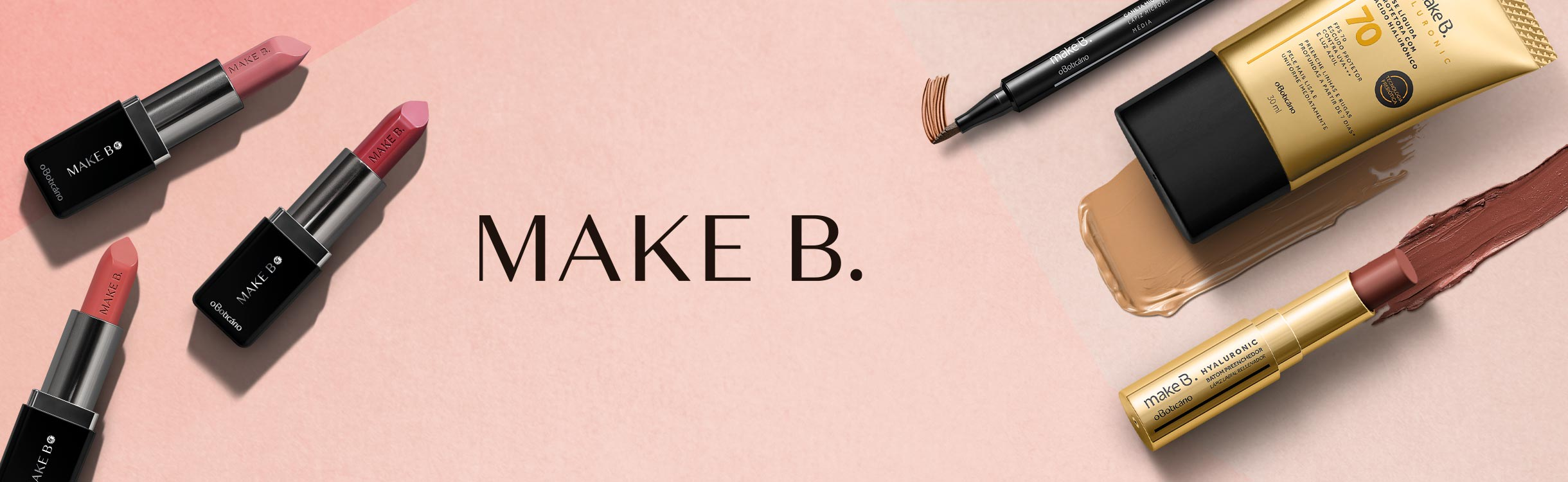 Make B. com até 20% de desconto você encontra aqui!