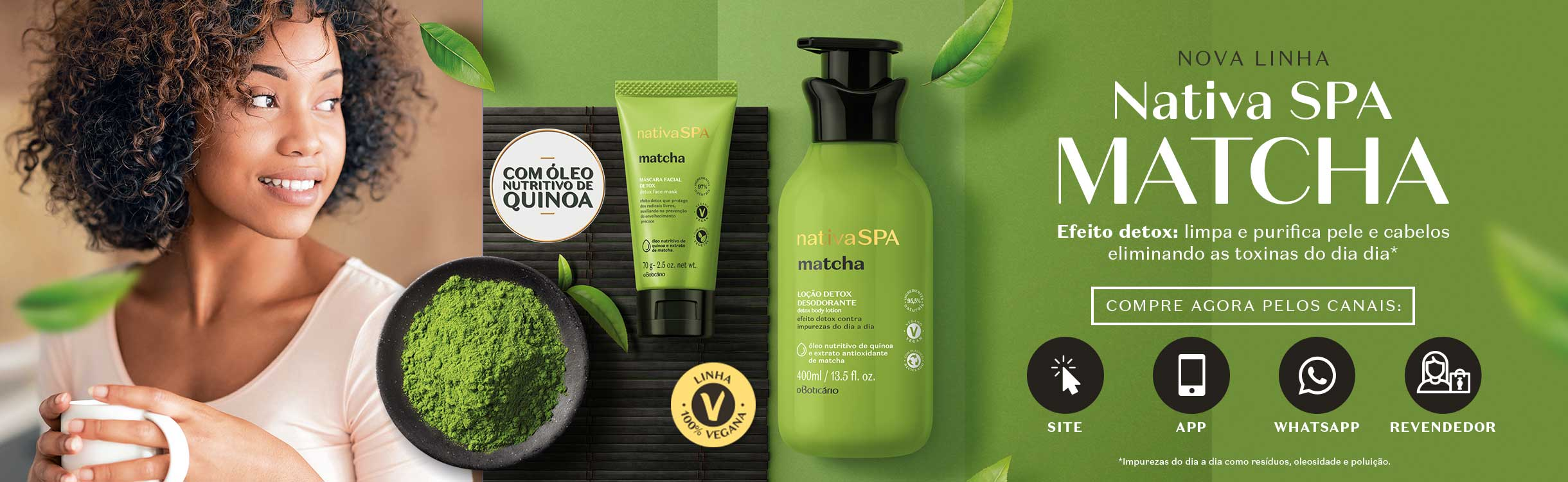 Nativa SPA Matcha